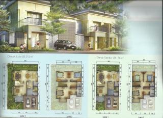 Rumah Di Centronia Residence Sentul City
