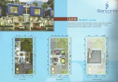 Santorini Residence @ Sentul City