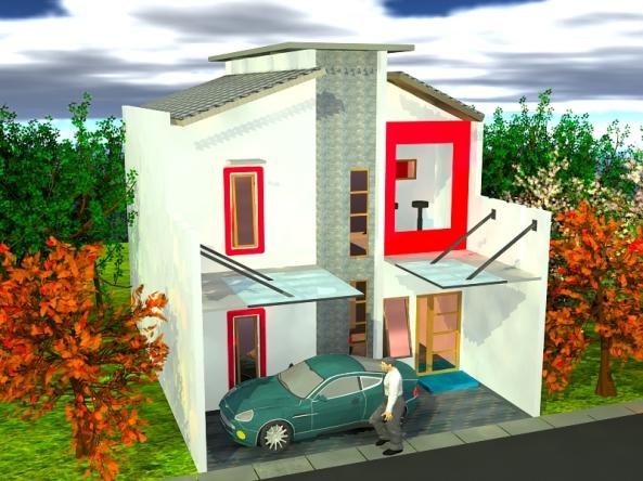 bangun rumah, renovasi rumah, villa, ruko dll.