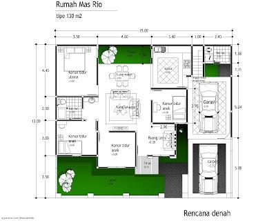Sketsa Rumah Minimalis | Gambar Desain Minimalis