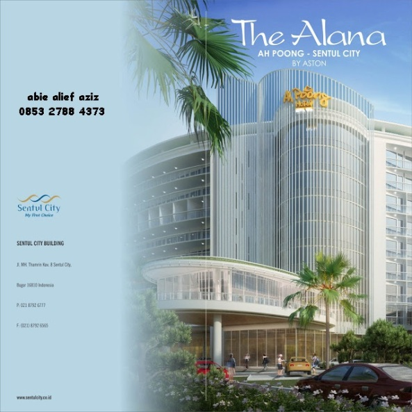 investasi the alana condotel sentul city