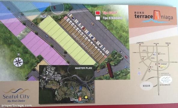 Master-Plan-Ruko-Terrace-Niaga-Sentul-City