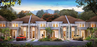Rumah-Cluster-Rousseau-Residence-Sentul-City-Type-58