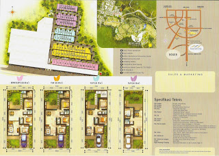 site plan denah Rosseau