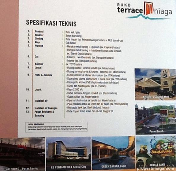 Spesifikasi-Teknis-Master-Plan-Ruko-Terrace-Niaga-Sentul-City
